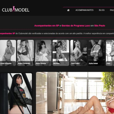Miniatura do site ClubModel